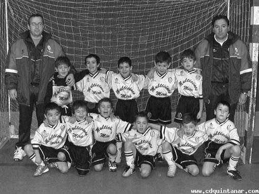 PREBENJAMIN B 2003/2004